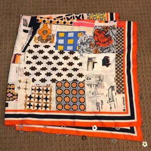 Tory Burch Scrapbook Scarf with Medallions - NWOT